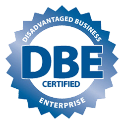 DBE Certified badge