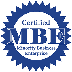 MBE Certified badge
