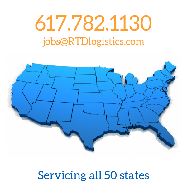 RTD Logistics servicing all 50 states in US